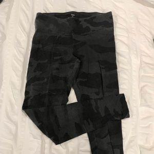 TNA black/grey camo leggings aritzia